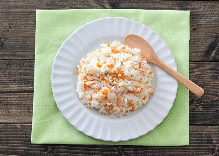 【幼児食】 炊飯器で簡単!人参チキンピラフ